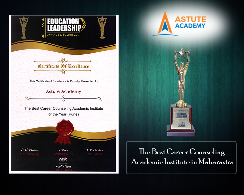 The Best career counselling academic institute of the year (Pune)