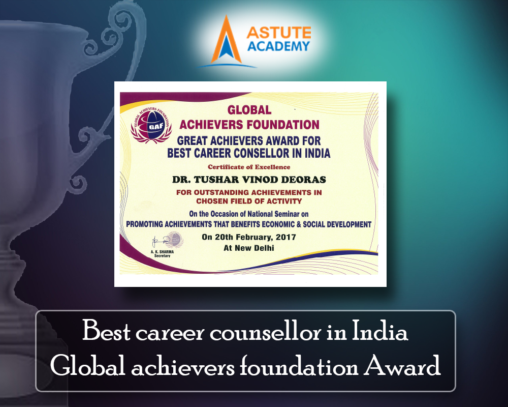 Best career counsellor in India Global achievers foundation