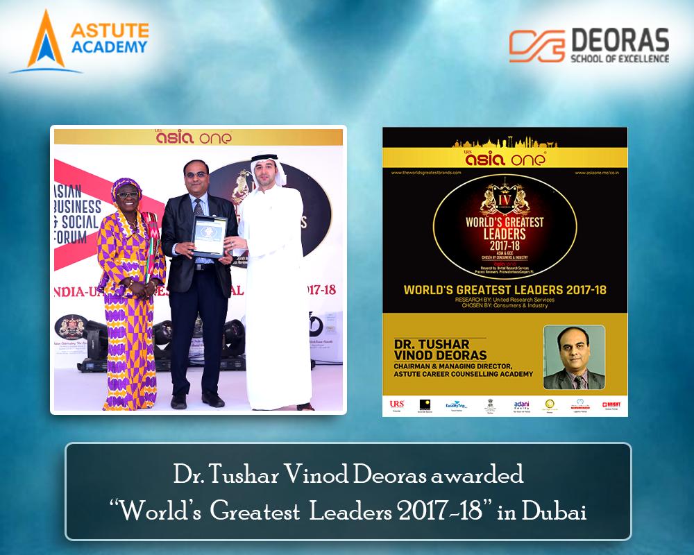 World's Greatest Leaders 2017-18 , Dubai